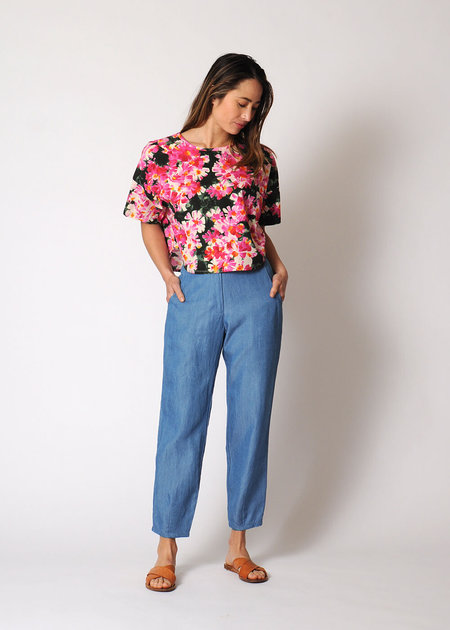 Conifer High Waist Pant - Denim