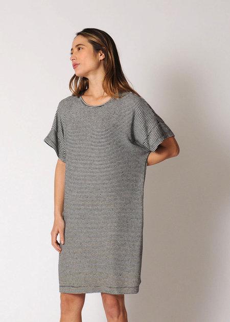Conifer Mini Pullover Dress - Stripe
