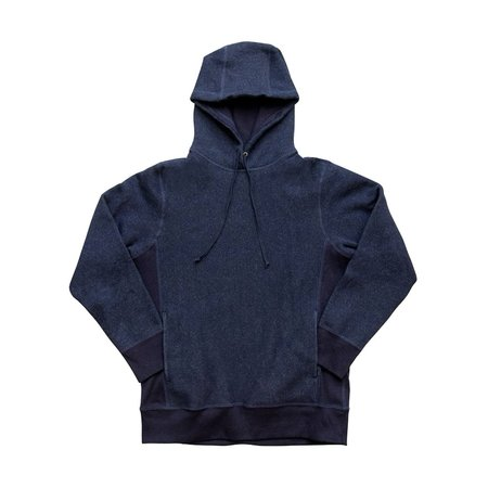 3Sixteen Heavyweight Pullover Hoody - Indigo Fleece