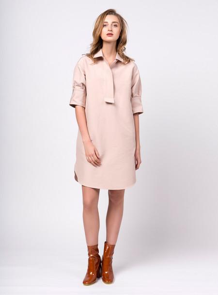 Series Noir Mira Dress - Dusty Pink