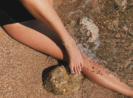 Swim To The Moon Amura Anklet
