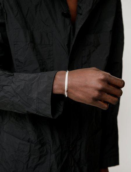 All Blues T Beam Bracelet - Silver