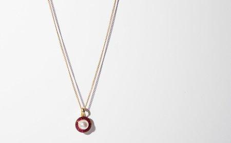 Kindred Black A Promise of Lightning necklace - 14k gold