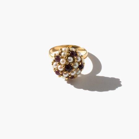 Kindred Black Burville Ring - 14k gold