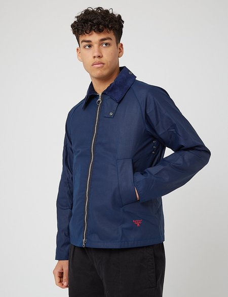 Barbour Beacon Munro Wax Jacket - Regal Blue