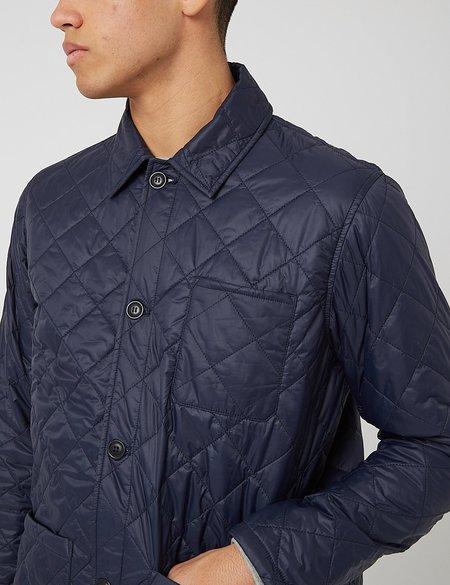 Barbour Soval Quilt Jacket - Navy Blue