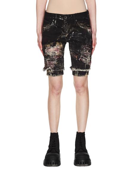 L.G.B. Distressed Shorts - Black