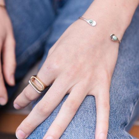 Unisex Seaworthy Kate Ring - Sterling Silver