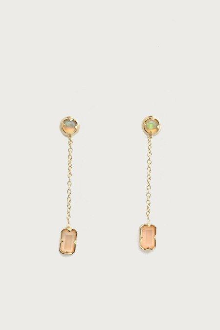 I Like It Here Club DingleDangles Earrings - Gold Plated