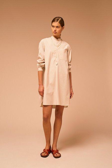 Soeur Francine Dress - brown/cream