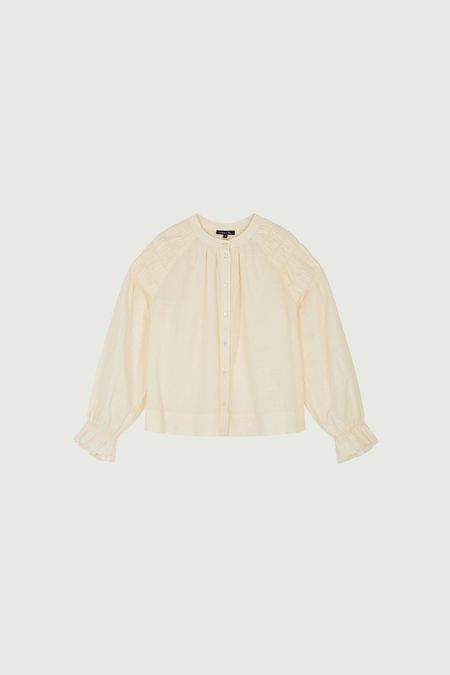 Soeur Mazarine Shirt - Cream
