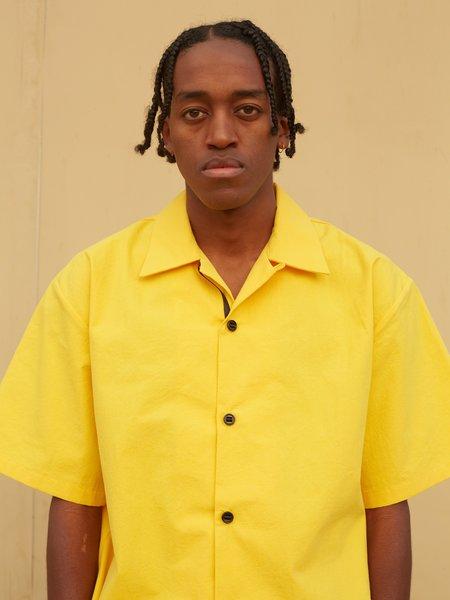 MAN-TLE R10 Holiday Shirt - Yellow Bio Wash