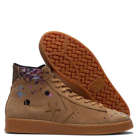 Converse x Bandulu Pro Leather shoes - yellow