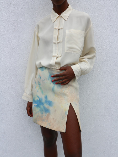 HOH Curate Vintage Hand-Dyed Vintage Skirt