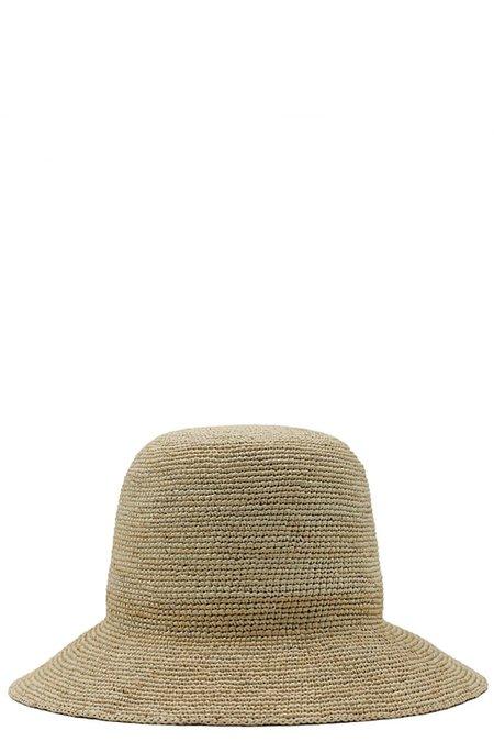 Jan-Jan Van Essche Straw Crochet Hat - Beige