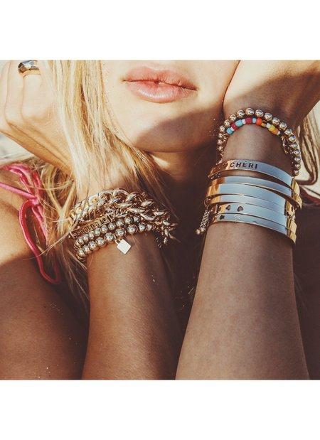 Dannijo Bleu Bracelet - 14k gold plated/brass