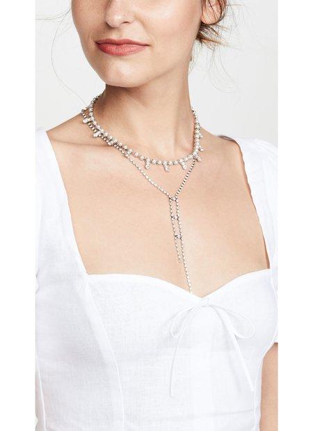 Dannijo Olivia Necklace - silver