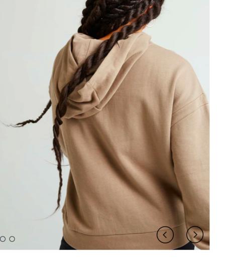 RicherPoorer Recycled Fleece Hoodie - Natural