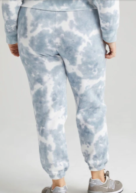 RicherPoorer Recycled Fleece Sweatpant - Blue Mirage Tie Dye