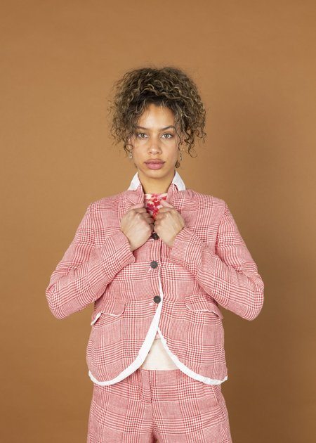 H+ Hannoh Wessel Vania Jacket - red check