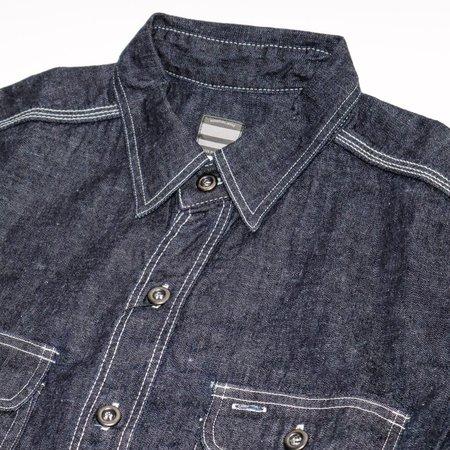 Momotaro Jeans 8oz Denim Shirt - Indigo