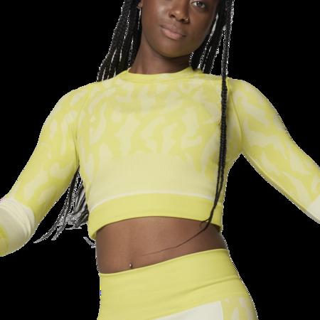 adidas by Stella McCartney TruePurpose Seamless Women GL7583 Top - Acid Yellow