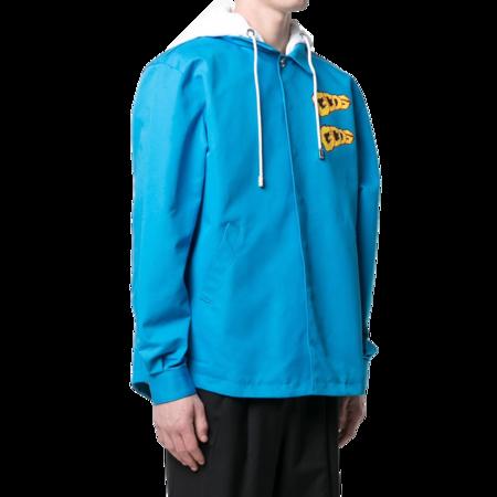 GCDS Overhood Diva SS21M040107-58 jacket - Blue