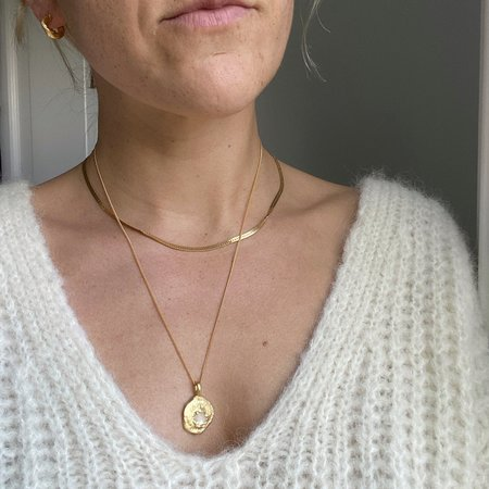 Mercurial NYC Gaia Necklace - Gold