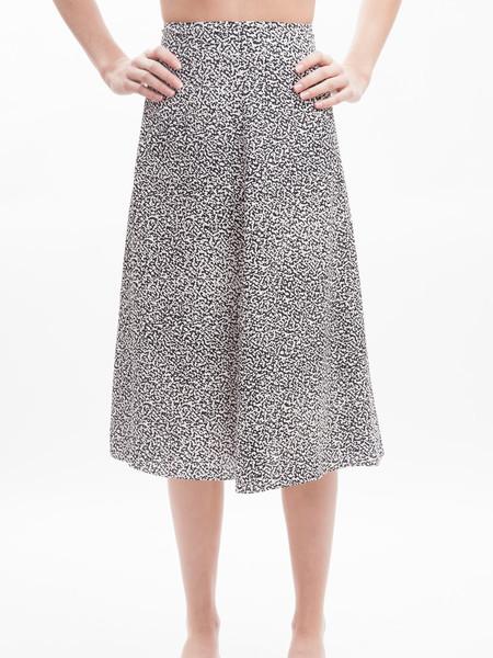 Nanushka Marble Print Skirt
