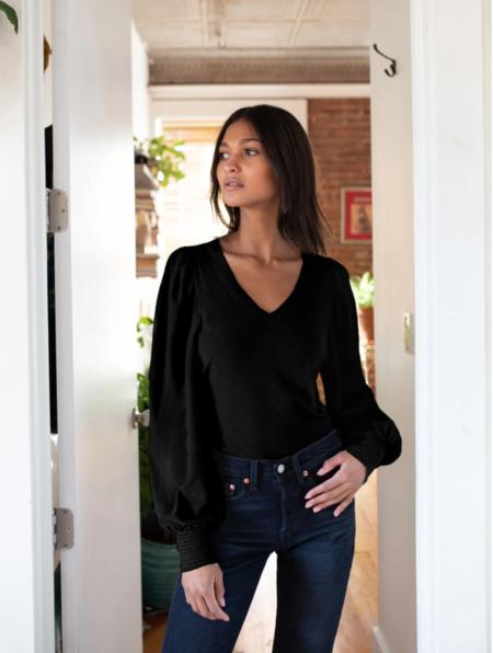 Nation LTD Tabitha Long Sleeve - Black