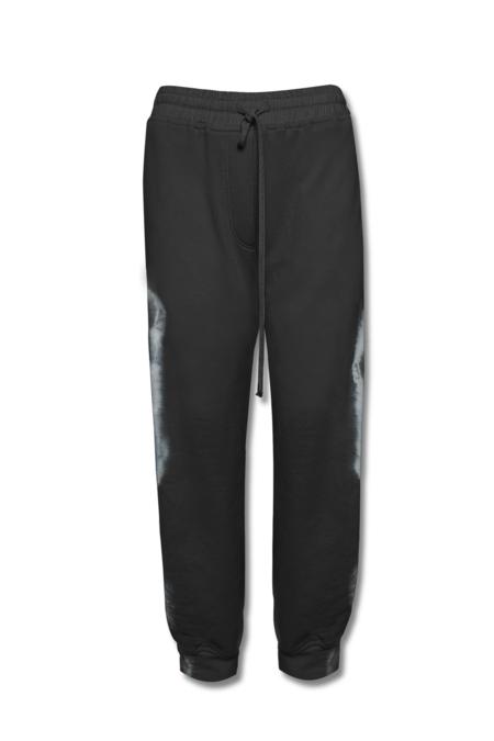 KES Terry Combo Joggers - Black Tie Dye