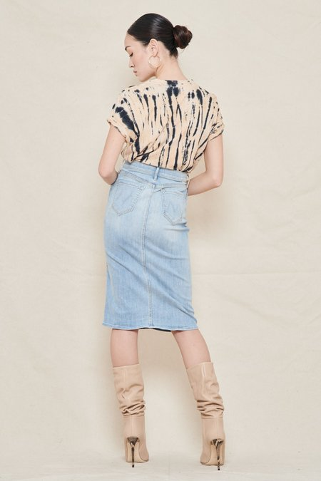 Mother Denim The Swooner Straight A Skirt - It's My Kinda Thing