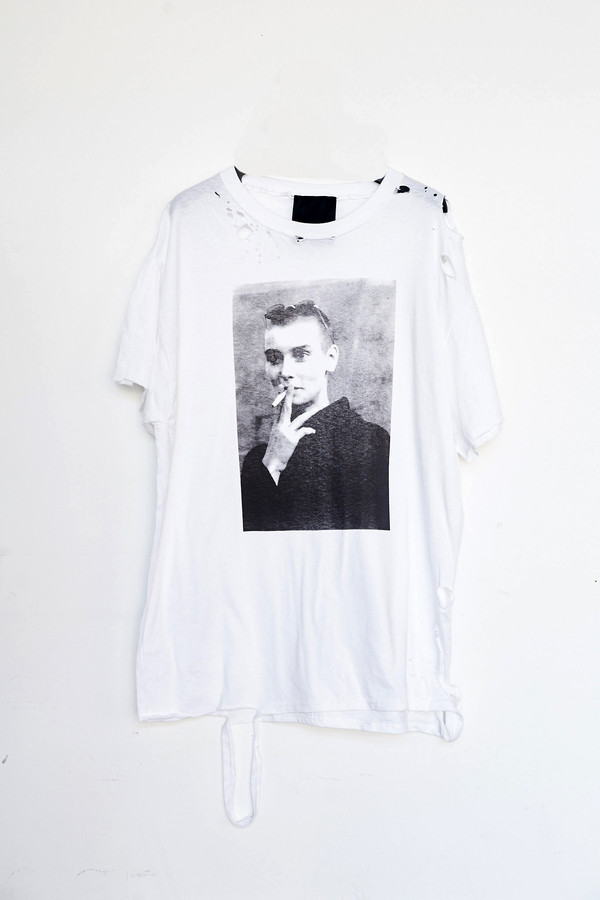 Assembly Cotton Destroyed Sinead T-shirt