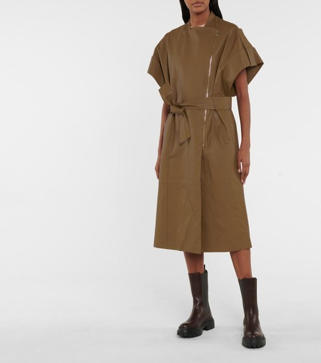 Dorothee Schumacher Exciting Coolness Coat - truffle brown