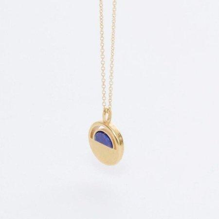 SHEISME Clarity Lapis Necklace