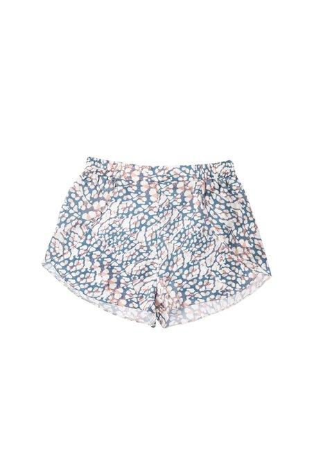 Else Marble Silk Shorts - Pastel
