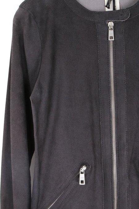 Giorgio Brato Thin Biker Jacket - Black Eagle