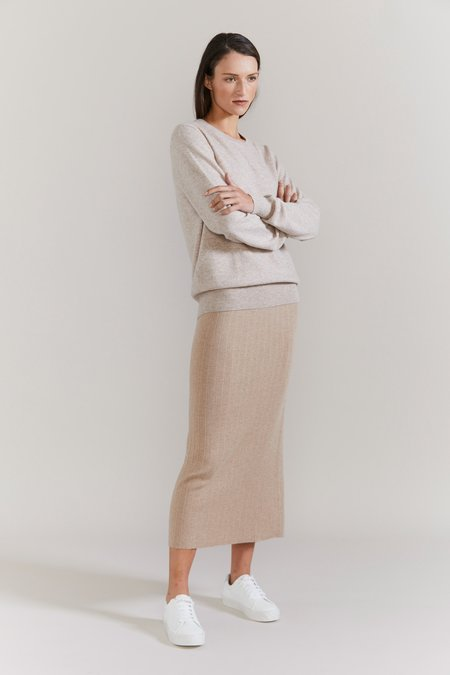 Laing Home Harry Pencil Skirt - Wheat