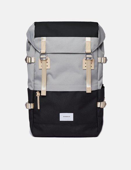 Sandqvist Harald Backpack - Multi Grey/Black