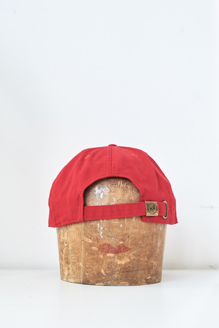 Assembly New York Cotton Yin Yang Hat - Red