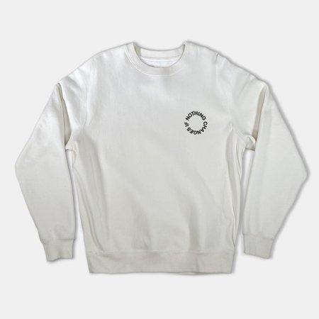 Haerfest NCI Crewneck Sweatshirt - Off White
