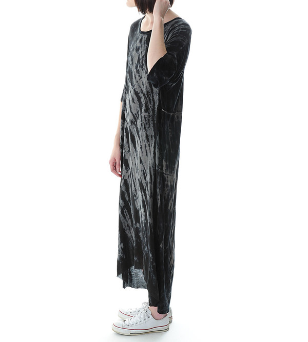 Raquel Allegra Tie-Dye Boxy Maxi Dress
