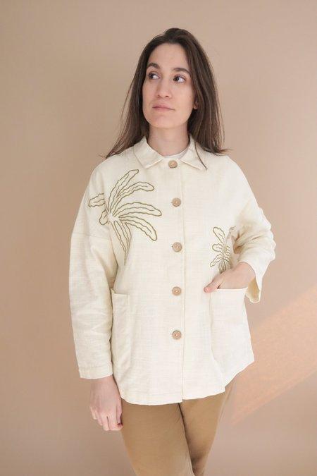 Nice Things Paloma Palms Jacket - Beige