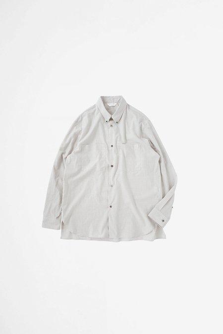 Still By Hand Double pocket BD shirt - pink beige