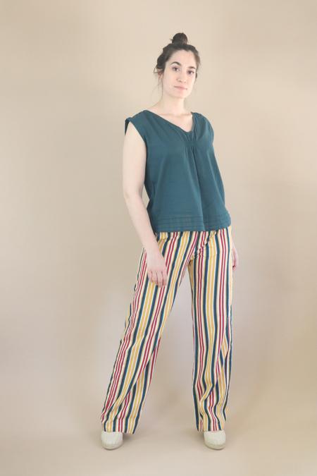 Diega Paris Passio Pants - Striped Print