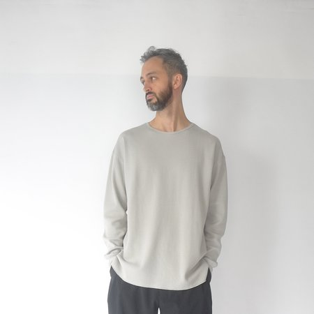 Still By Hand Thermal long sleeve - grey