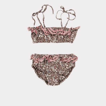 Kids Caramel Mahi Bikini - June Meadow Brown