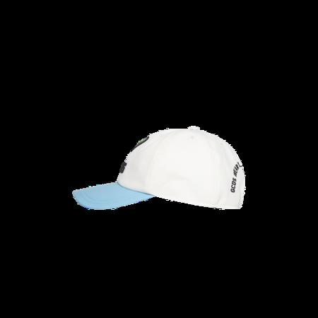 GCDS Rick & Morty Cucumber RM21M010001-MX Cap - white/blue