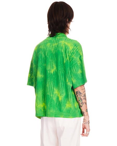 GCDS Tye Die Polo - Green