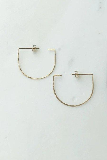 Token Saki Earrings - Gold